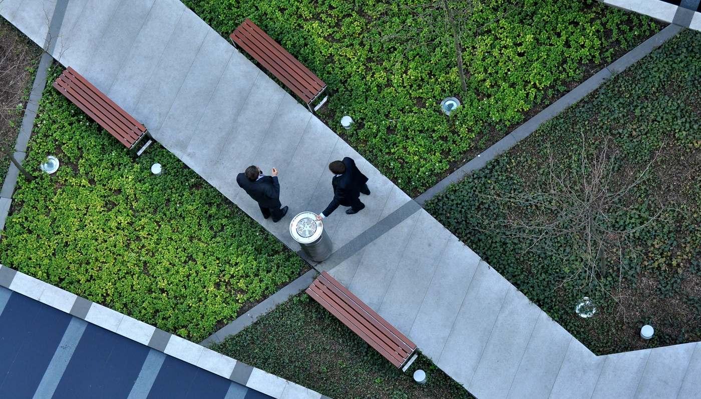 Ogrody Na Dachu Harmony Office Centre Architekci Krajobrazu